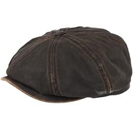 McCook Pigskin Flat Cap - Stetson caps - Hatstoreworld.com 709cf441fbae