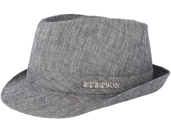 2e66bc3c26c Linen Fischgrat Grey Trilby - Stetson hats - Hatstoreaustralia.com
