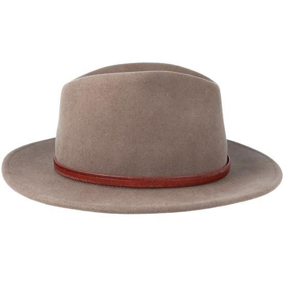 b3b889da57e Woolfelt Brown Traveller - Stetson hat - Hatstore.co.in
