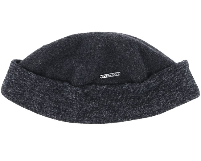 1407179fddebc Docker Wool Cashmere Short Beanie - Stetson beanies - Hatstoreworld.com