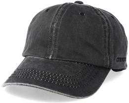 Baseball Cap Black Adjustable - Stetson