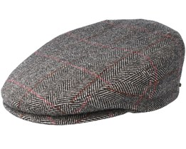 Kent Wool Brown Flat Cap - Stetson