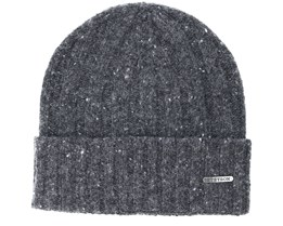 Wool Dark Grey Beanie - Stetson