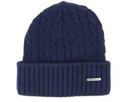 Wool Navy Beanie - Stetson
