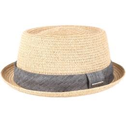 e9219d42962 Diamond Raffia Braun Straw - Stetson hatt - Hatstore.se