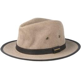c83cb9ca Ava Co/Pe Brown Fedora - Stetson hats - Hatstoreaustralia.com