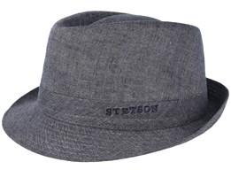 Geneva Linen Grey Trilby - Stetson
