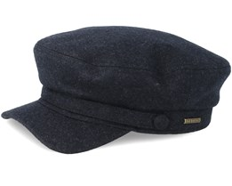 Riders Wool Cap Dark Grey Flat Cap - Stetson