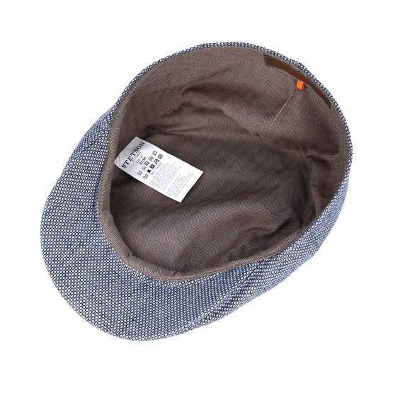 b7ffa605fb6 Ivy Cap Linen Blue Flat Cap - Stetson caps - Hatstoreaustralia.com