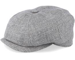 Hatteras Virigin Wool/Silk Grey Flat Cap - Stetson
