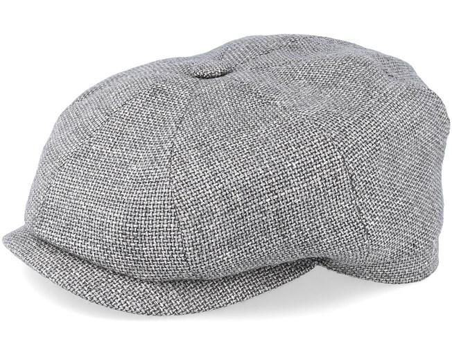 eaf4db48 Hatteras Virigin Wool/Silk Grey Flat Cap - Stetson caps | Hatstore.co.uk