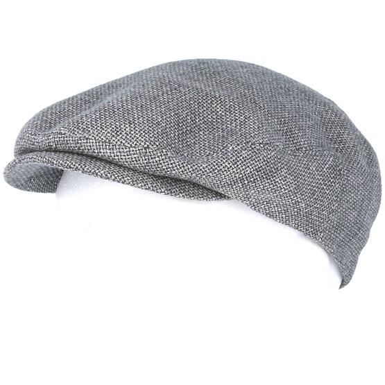 e4eb2e3e Driver Cap Virgin Grey Wool/Linen Flat Cap - Stetson caps -  Hatstoreaustralia.com