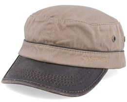 Cap Cotton Khaki/Brown Army - Stetson