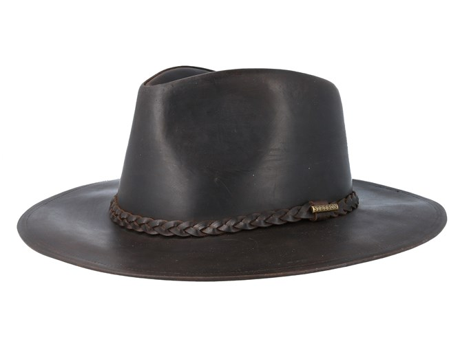 Western Buffalo Leather Brown - Stetson hats - Hatstoreworld.com 3a457bc4fb9