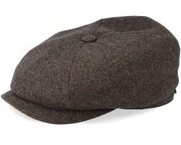 Hatteras Wool Brown Flat Cap - Stetson