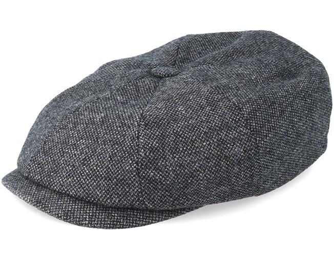 2286f9ebd42 Hatteras Wool Dark Grey Flat Cap - Stetson caps - Hatstorecanada.com