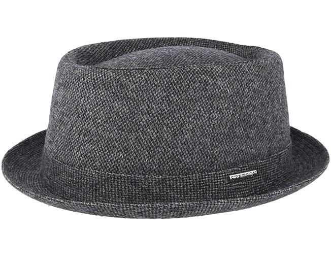 9286e18dfcf7f5 Wool Grey Pork Pie - Stetson hats - Hatstoreaustralia.com