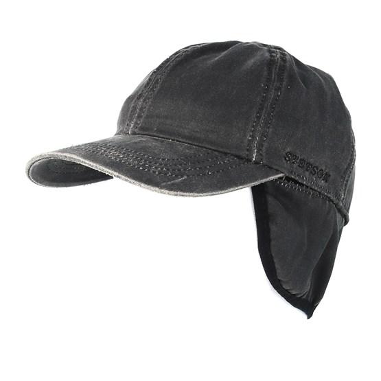 a477c9f18 Baseball Cap Co/Pe Ef Black Flexfit - Stetson