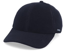 Baseball Wool/Cashmere Black Ear Flap - Stetson