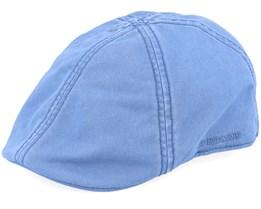 Texas Cotton Blue Flat Cap - Stetson