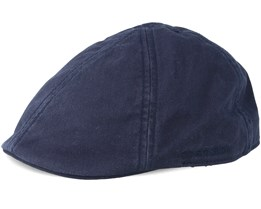 Texas Cotton 2 Navy Flat Cap - Stetson