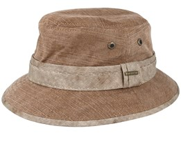Cotton Brown Bucket - Stetson