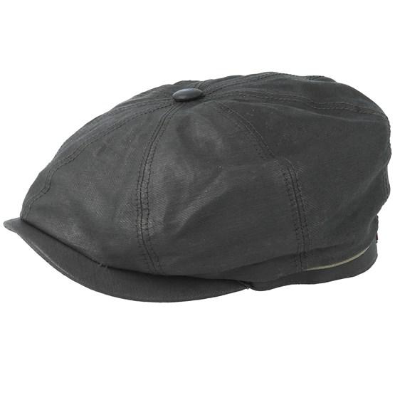 Keps Hatteras Outdoor Black Flat Cap - Stetson - Svart Flat Caps