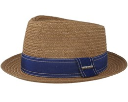 Player Hemp Beige Straw Hat - Stetson