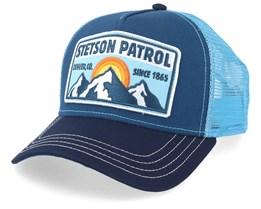 Patrol Navy/Blue Trucker - Stetson