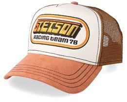 Racing Team 76 Beige/Brown Trucker - Stetson