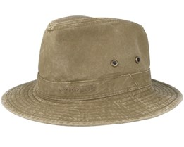 Delave Organic Cotton Olive Traveller - Stetson