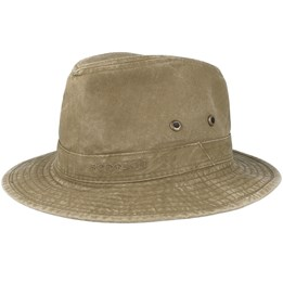 a9a5d858495129 Pig Skin Brown Pork Pie - Stetson hats - Hatstorecanada.com