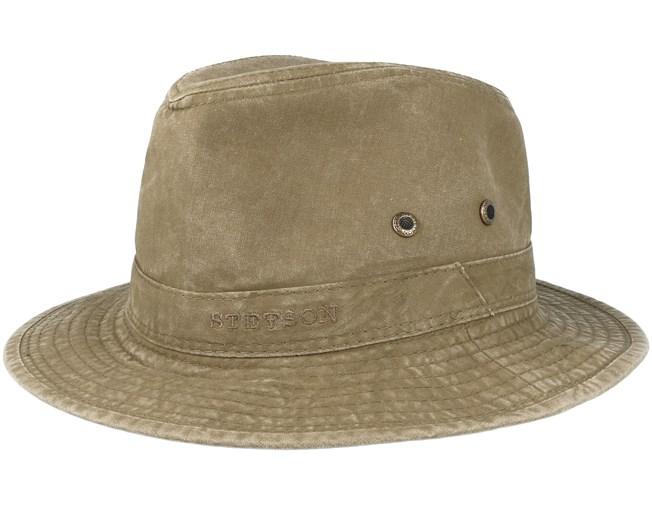 29c38725b26b91 Delave Organic Cotton Olive Traveller - Stetson hats - Hatstoreaustralia.com