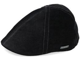 Texas Velvet Black Flat Cap - Stetson
