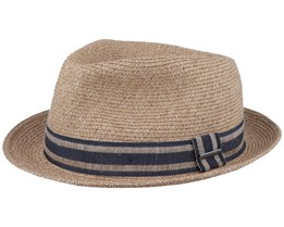 Player Linen Mix Natural Trilby - Stetson