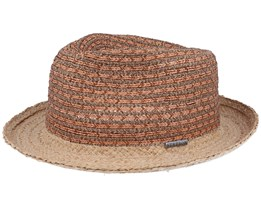 Viscose/Cotton Brown/Orange Trilby - Stetson