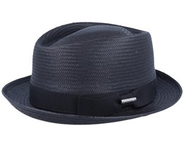 Diammond Toyo Black Trilby - Stetson