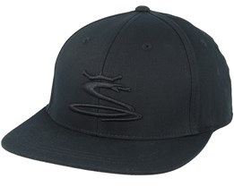 Kids Tour Snake Black Snapback - Cobra