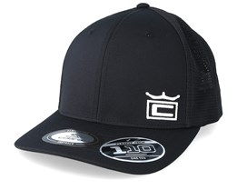 Crown Black/White Trucker - Cobra