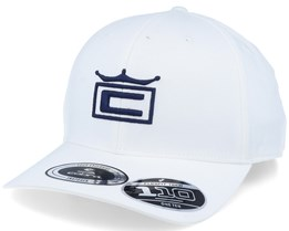 Tour Crown White/Navy 110 Adjustable - Cobra