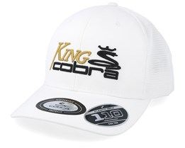 7472056f63a08 King Cobra White Black Gold Trucker - Cobra