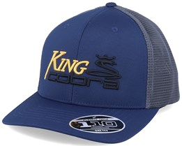 King Cobra Dark Denim/Dark Grey Trucker - Cobra