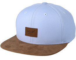 Suede Light Blue/Brown Snapback - Reell