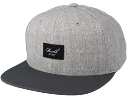 Pitchout Heather Light Grey/Grey Snapback - Reell