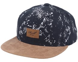 Suede Speck Camo/Brown Snapback - Reell