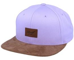 Suede Light Purple/Brown Snapback - Reell