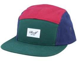 Red/Green/Navy 5-Panel - Reell
