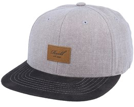 Suede Cap 150 Washed Brown Snapback - Reell