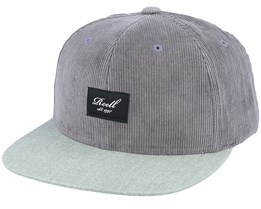 Pitchout 140 Charcoal / Washed Olive Snapback - Reell