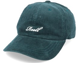 Single Script Cap 160 Dark Green Ribcord Adjustable - Reell